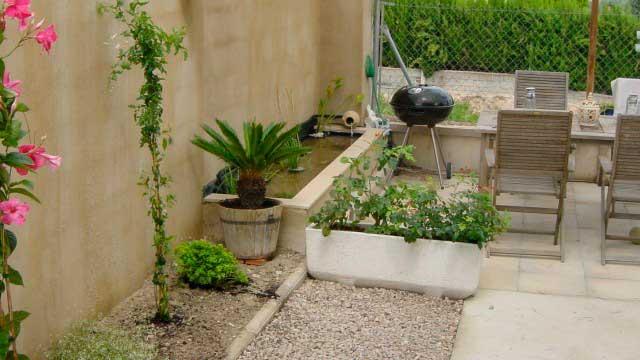 SE VENDE CHALET EN BENIMARFULL-jardin2