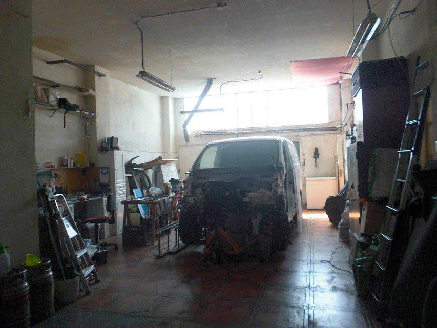 En venta garaje en Ensanche