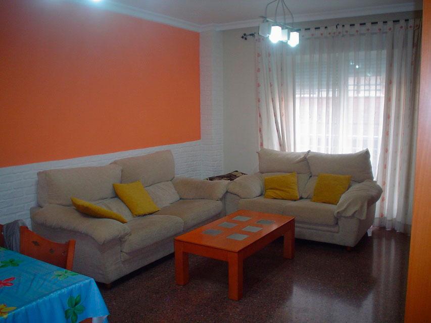 Bonito piso en venta con patio en la cocina en Santa Rosa-comedor-3