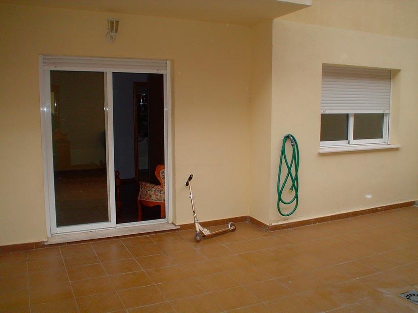 Bonito piso en venta con patio en la cocina en Santa Rosa-terraza-2