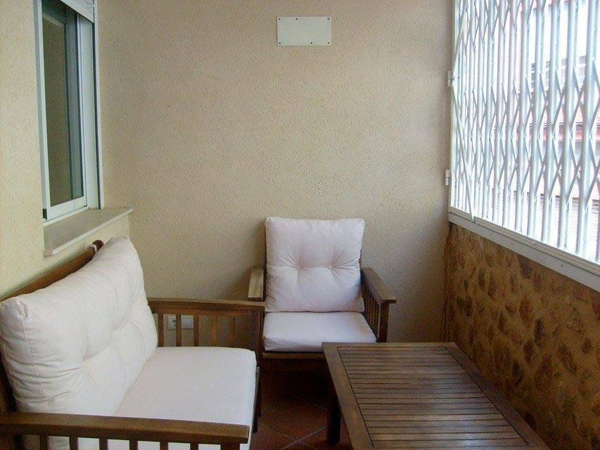 Bonito y moderno piso en venta con garaje y trastero en Batoy - balcon cerrado 2