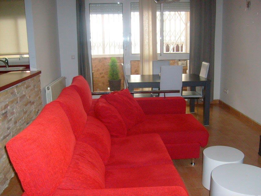 Bonito y moderno piso en venta con garaje y trastero en Batoy - salon 2