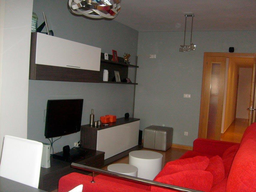Bonito y moderno piso en venta con garaje y trastero en Batoy - salon 3