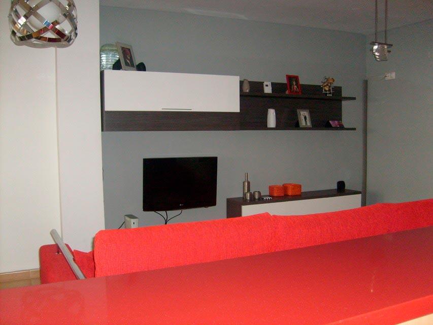 Bonito y moderno piso en venta con garaje y trastero en Batoy - salon 4