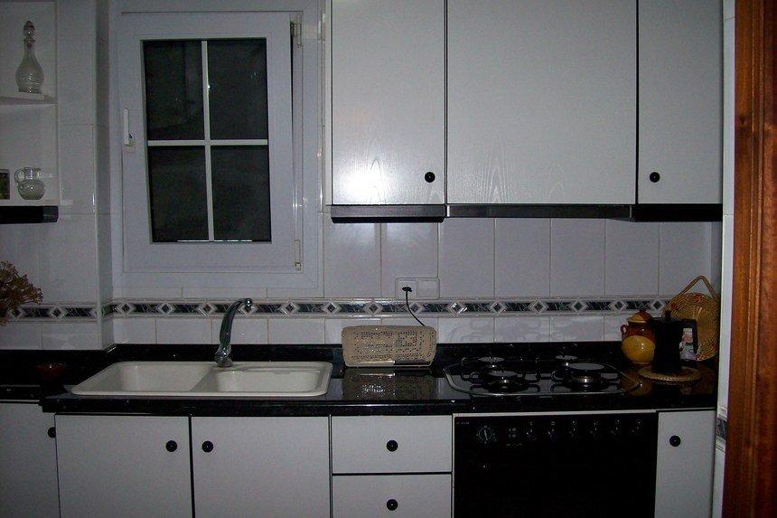 Casa con grandes dimensiones en Ensanche - cocina
