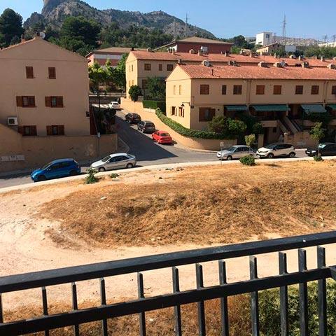 Casa con vistas sin amueblar en Ensanche-vistas 2