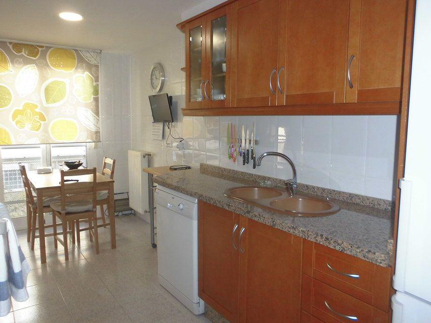 Dúplex amplio y soleado en Ensanche-cocina
