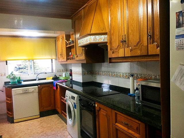 Encantador piso completamente reformado en la zona de Santa Rosa-cocina