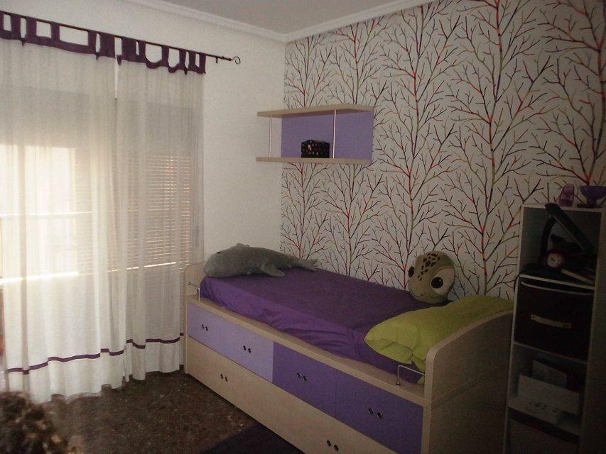 Encantador piso con salón con chimenea en la zona de Santa Rosa- habitacion 2
