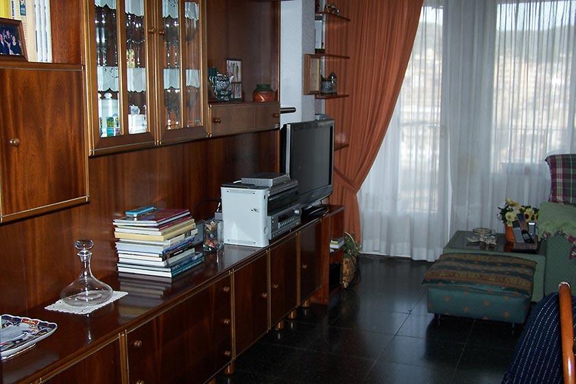 Gran vivienda con agradables vistas en Ensanche-salon 2