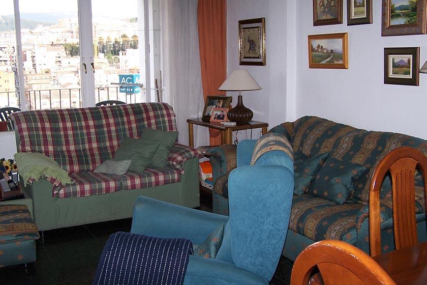 Gran vivienda con agradables vistas en Ensanche-salon