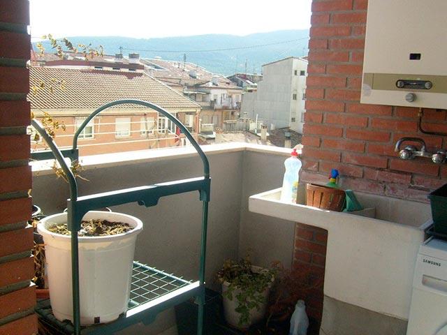 Hogar con plaza de garaje en Ensanche - terraza