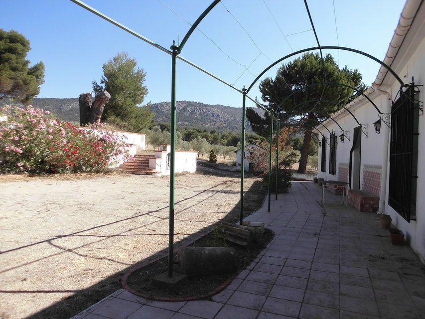 Masía-con-terreno-en-Onil-terraza
