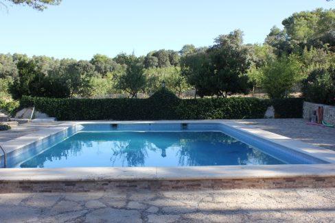 Masía-rústica-en-Estepar-piscina