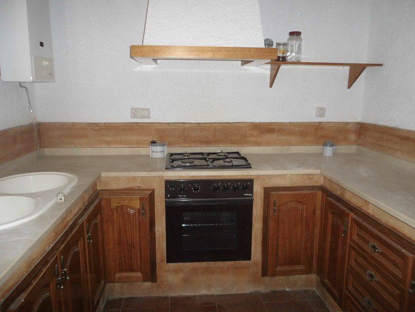 Masía-rústica-en-venta-en-Mariola-Cocina
