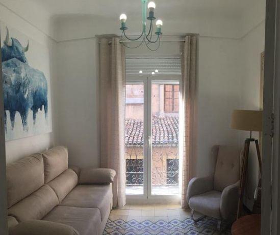 Moderno y bonito piso en pleno centro de Alcoy-salon