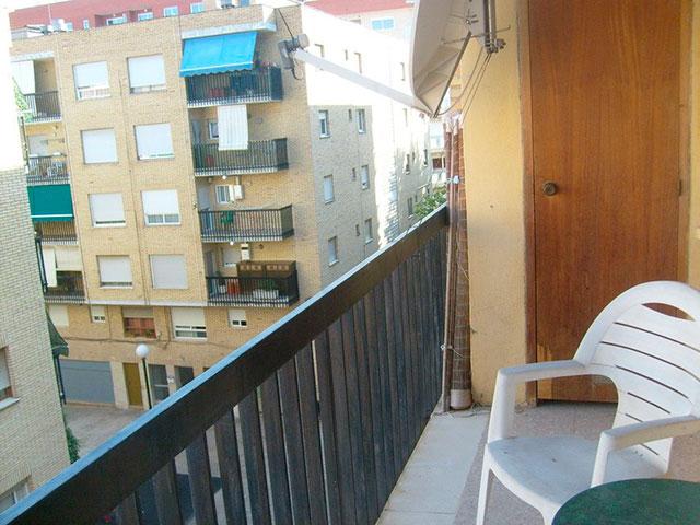 Muy acogedor piso todo reformado en Santa Rosa-balcon