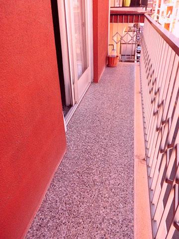 Piso con aire y calefacción en la zona de Santa Rosa-balcon