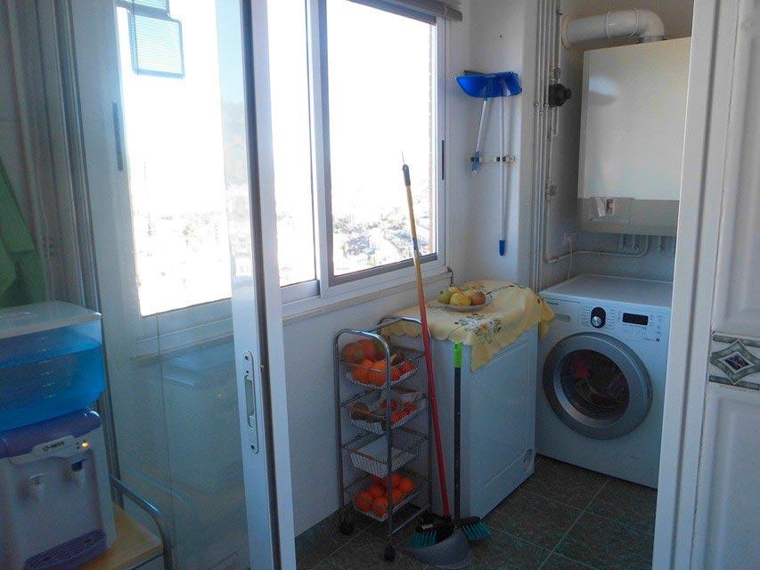 Piso con excelentes vistas en la Zona Alta-lavanderia