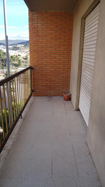 Piso con excelentes vistas en venta en Santa Rosa-balcon