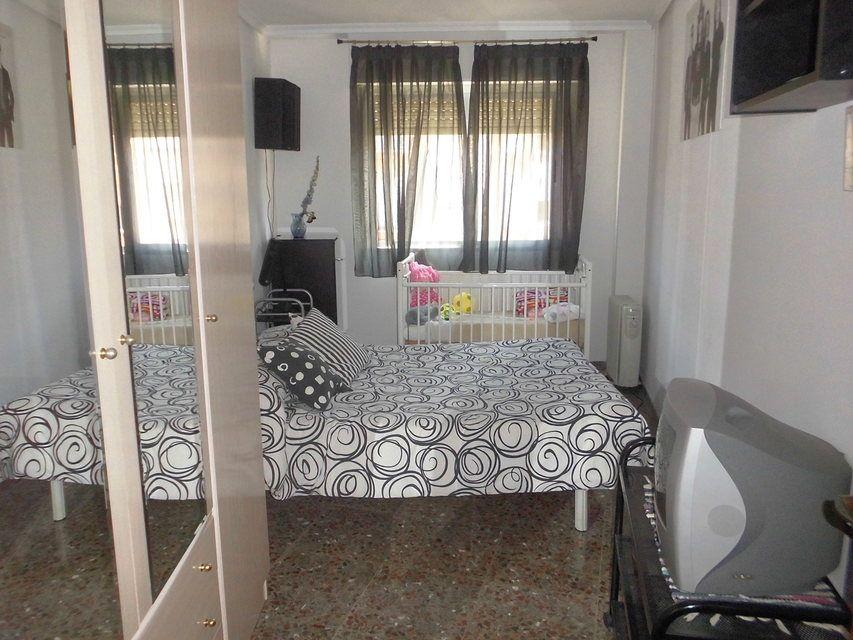 Piso en venta con 3 habitaciones y balcón Zona Alta-habitacion3