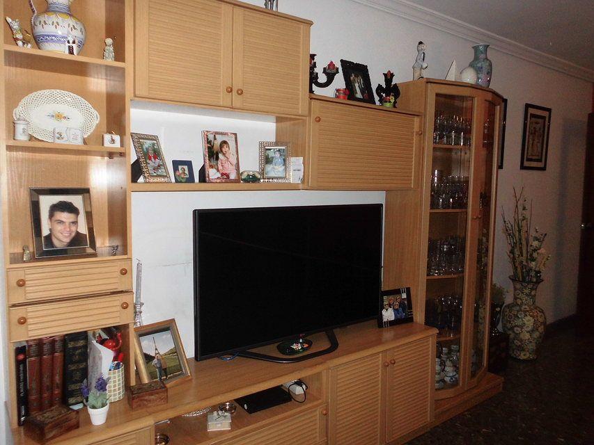 Piso en venta con 3 habitaciones y balcón Zona Alta-salon