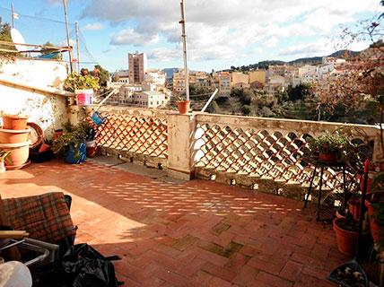 Piso en venta con bonitas vistas en Zona Viaducto-terraza 2