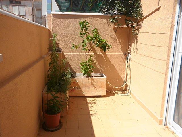 Piso moderno en Ensanche-terraza