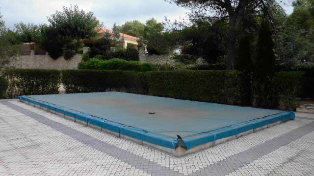 SE VENDE PRECIOSA CASA DE CAMPO ALCOY-piscina