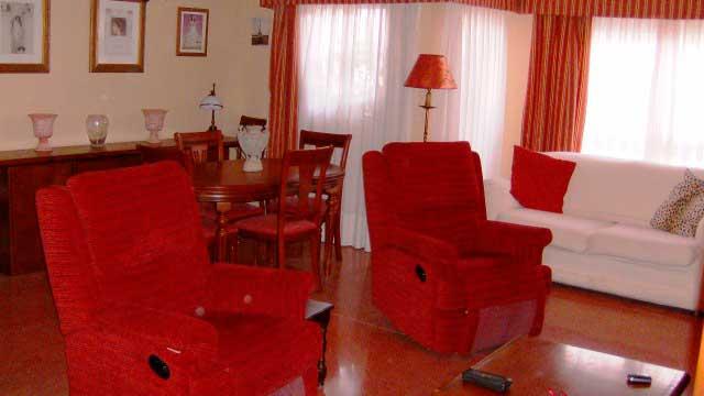 Se vende piso con balcón exterior en Zona Ensanche-salon 2