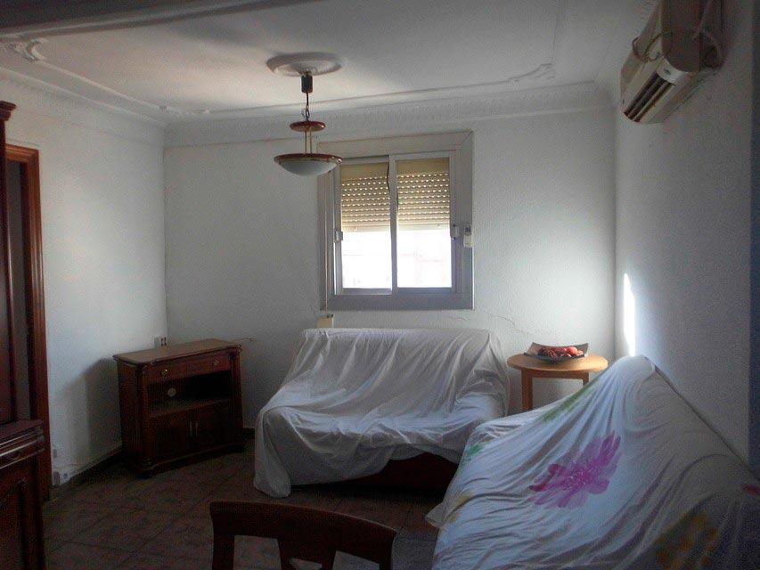 Vivienda con 4 habitaciones en la Alameda-salon