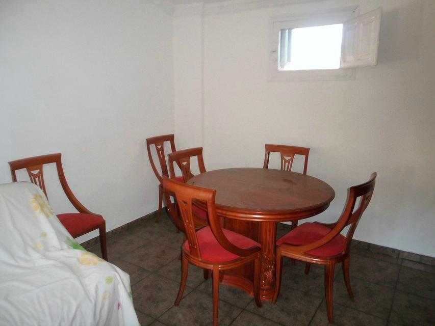 Vivienda con 4 habitaciones en la Alameda-comedor
