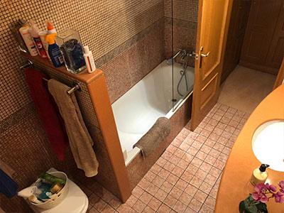 Adosado con piscina comunitaria en Ensanche - bano con ducha