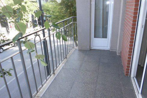 En venta gran piso en Ensanche balcon