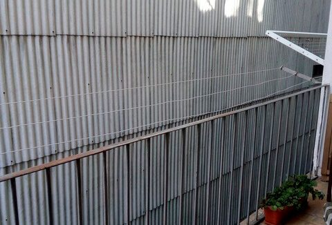 Piso con vestidor en venta en ensanche - balcon