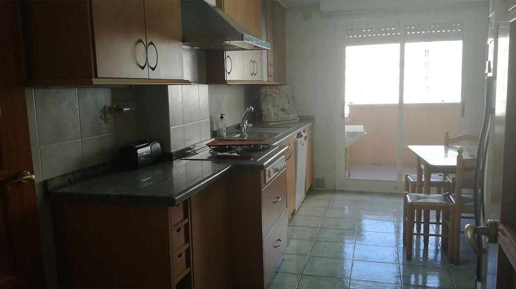 Piso de 120 m2 en Santa rosa amplia cocina