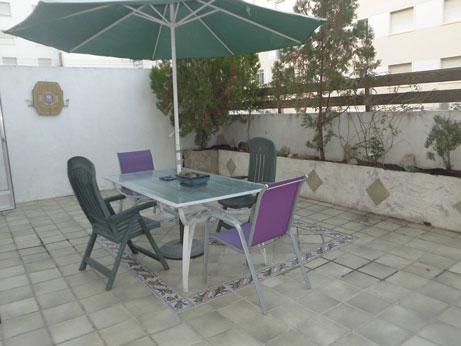Piso moderno con terraza en Santa Rosa 1