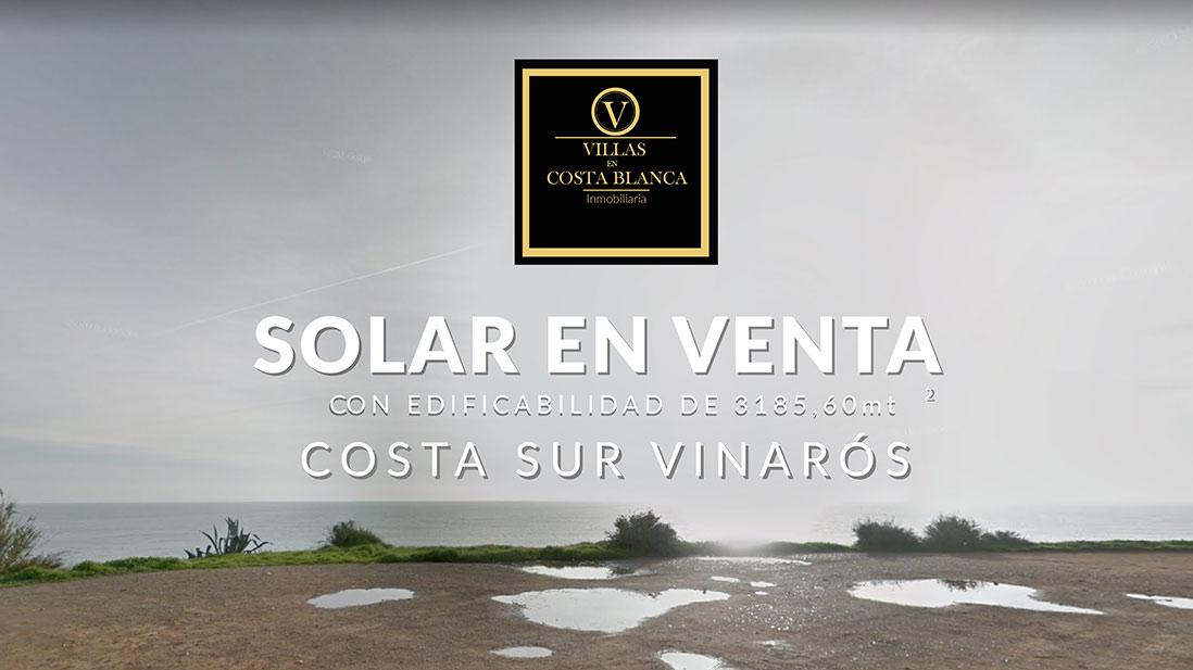Solar en venta en Costa Sur Vinarós
