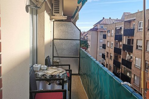 piso amplio en santa rosa - balcon