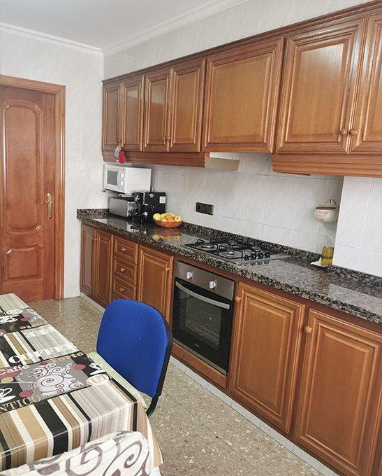 piso amplio en santa rosa - cocina