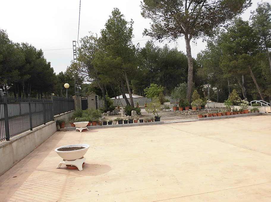 Acogedor chalet con impresionante jardín-jardin