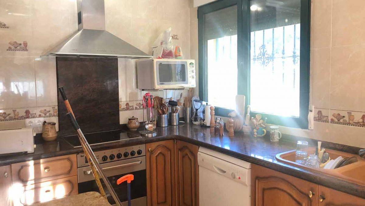 Hermosa casa de campo con vistas alucinantes Ibi-cocina