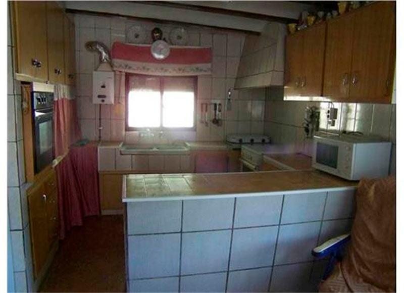 rustica e increible casa de campo en muro-cocina