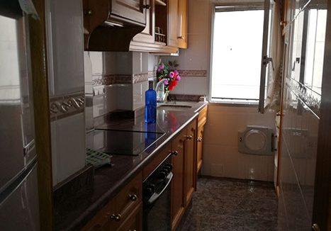 Piso Santa Rosa con garaje opcional cocina
