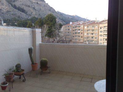 Piso en Santa Rosa con terraza exterior terraza