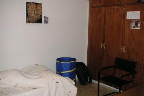 Confortable ático semireformado en Santa rosa-dormitorio