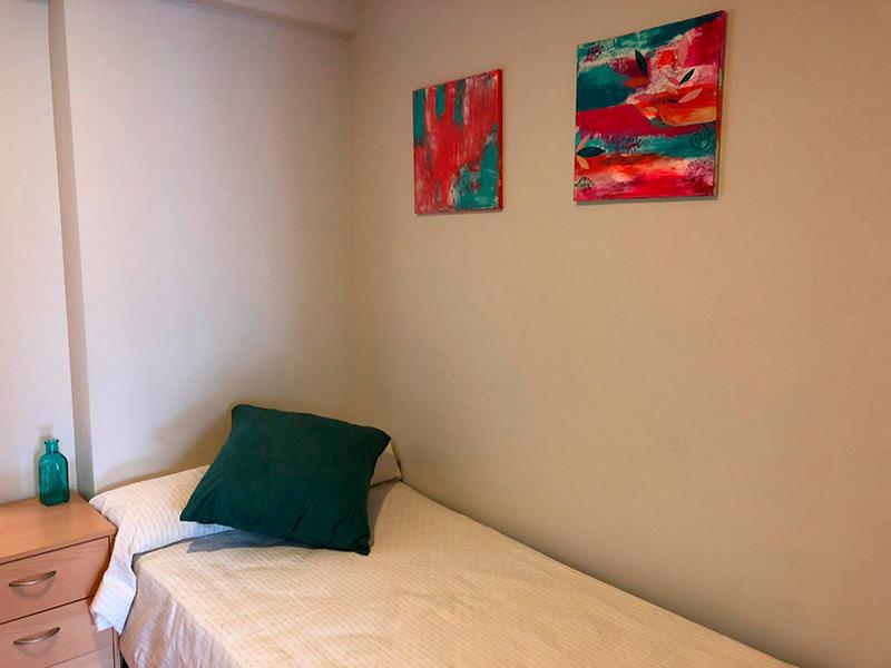 acogedor y hermoso bajo totalmente reformado-dormitorio3