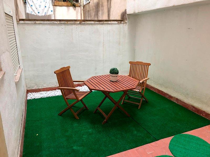 acogedor y hermoso bajo totalmente reformado-terraza2