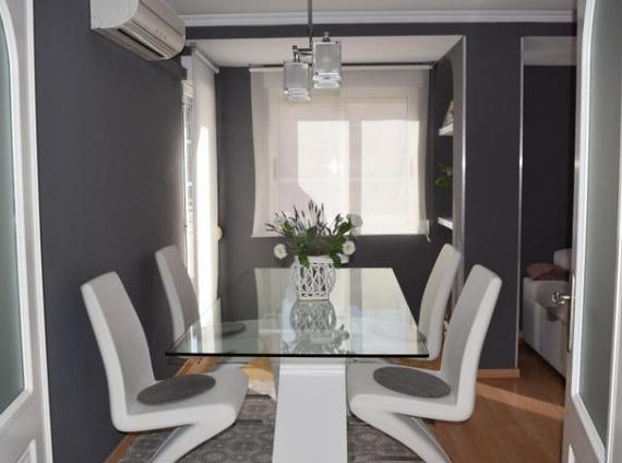 acogedor y luminoso piso moderno-comedor