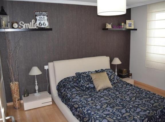 acogedor y luminoso piso moderno-dormitorio